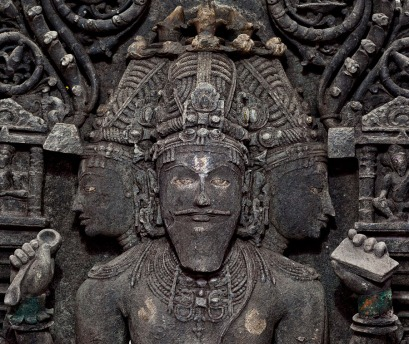 Brahma temple at Carambolim in Sattari (BrahmaKarmali)